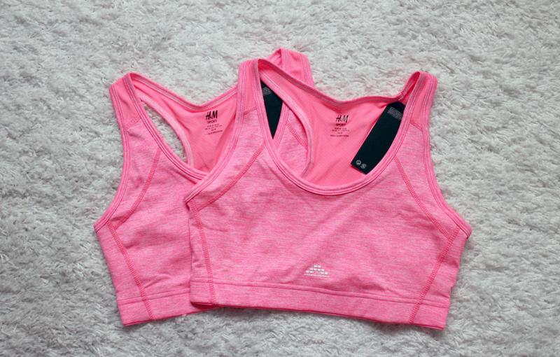 796caf6fd3ed Ni kanske minns att jag köpte en rosa tränings-bh från H&M för ett par  månader sedan? Nåväl den är min stora favorit i träningsgarderoben och det  beror på ...