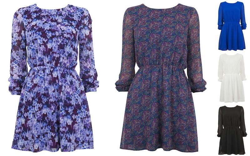Bik Bok har nyligen fått in väldigt fina klänningar som ni kan se ovan.  Modellen kommer i två mönstrade varianter samt tre enfärgade. 655609cd9dd94