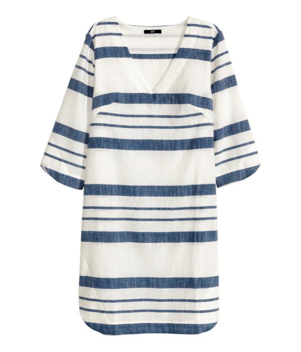 4ab4af21bbc4 Bland dessa nyheter hittade jag den här klänningen som jag för någon vecka  sedan sprang förbi i butik. Klänningen är i vävd bomullskvalitet ...