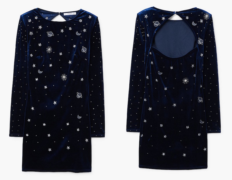 stars moon dress mango