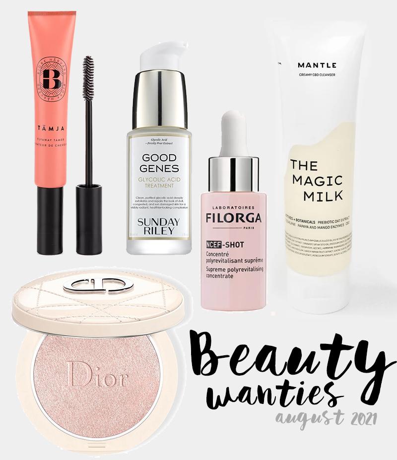 beauty wanties - augusti 2021
